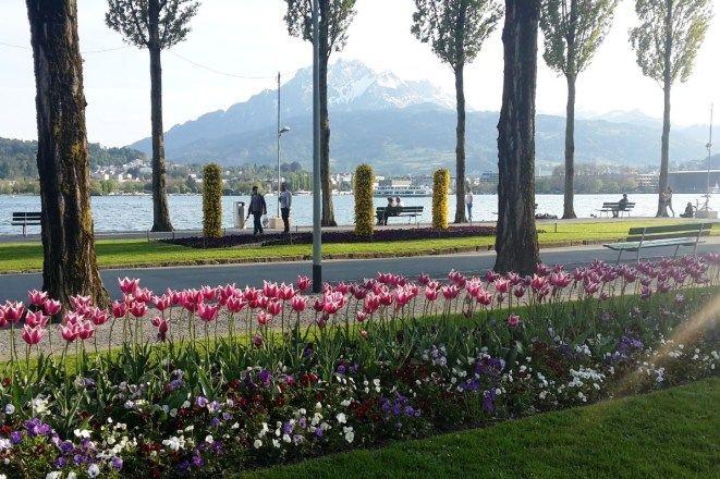 menyaksikan pemandangan alam terindah di lucerne switzerland ide ode