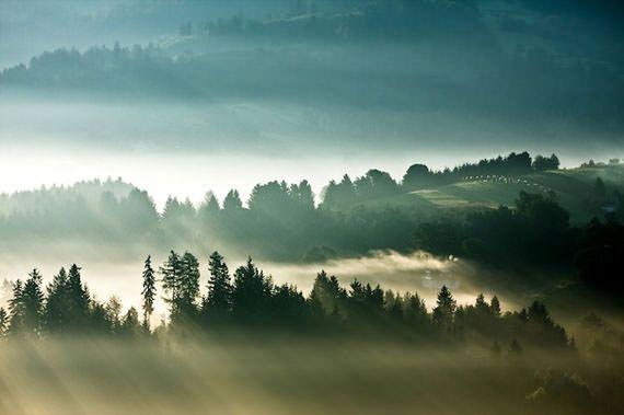 boguslawstrempel1 pemandangan di pegunungan yang sangat indah pada waktu pagi