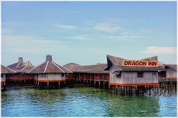 bersyukur disajikan dengan pemandangan yang agak indah di dragon inn