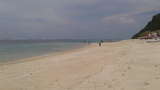 pandawa beach pemandangan pantai pandawa sekitar pukul 10 pagi